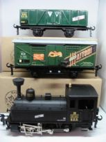 "Industrial Tank Locomotive  ""Mattoni"" Set"